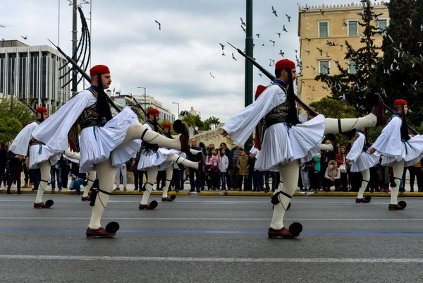 Changing of guard ceremony in Athens thumbnail