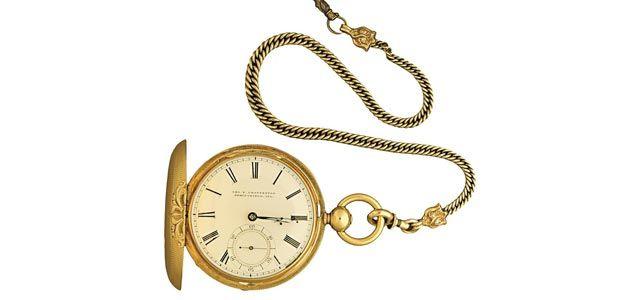 Abraham Lincolns gold watch