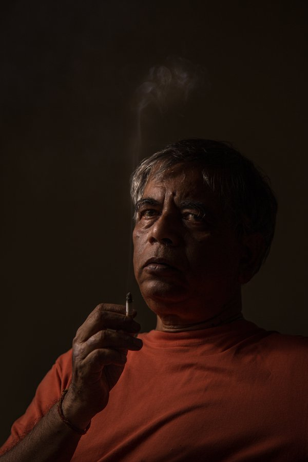 Father and his cigarette thumbnail
