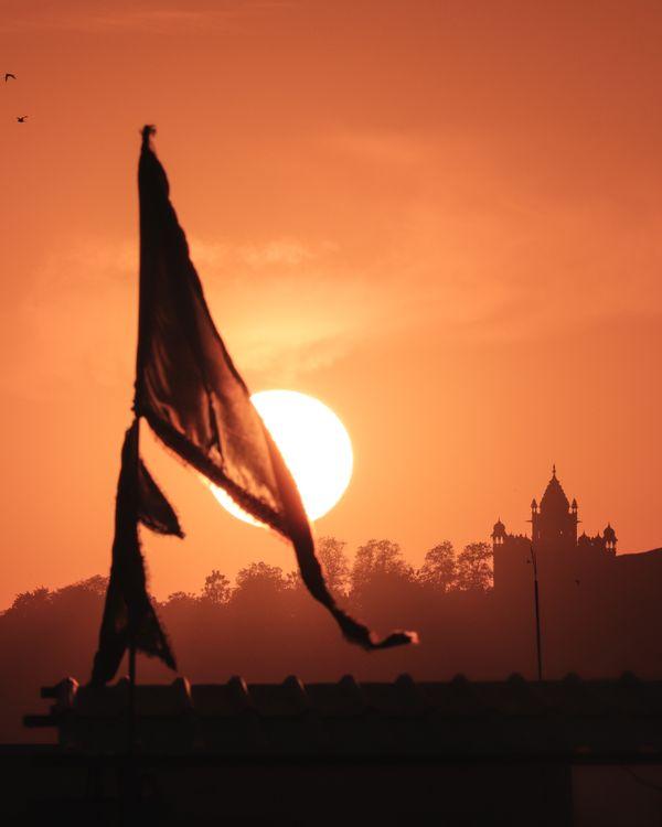 Sunset of Jodhpur 1 thumbnail