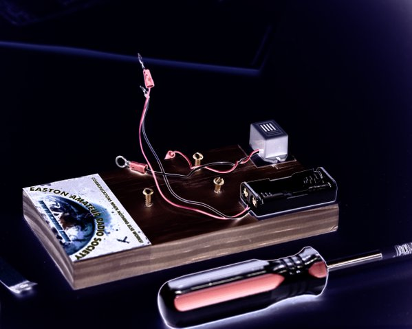 Morse Code Buzzer with Solarization thumbnail