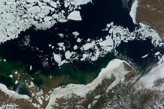 Miners, Drillers Push Into Void Left By Melting Arctic Ice