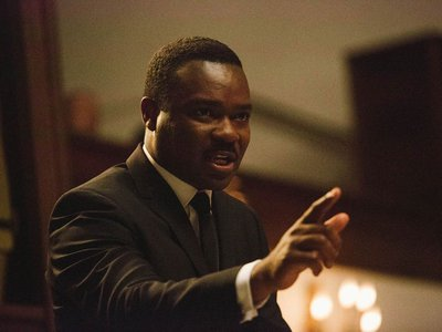 """""""One of the most important contributions"""" of the film, says Lonnie Bunch, """"is the humanization of Dr. King,"""" as portrayed by David Oyelowo."""