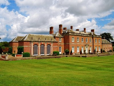 Jane Austen's brother, Edward, inherited this grand Palladian-style home from the wealthy relatives who raised him.