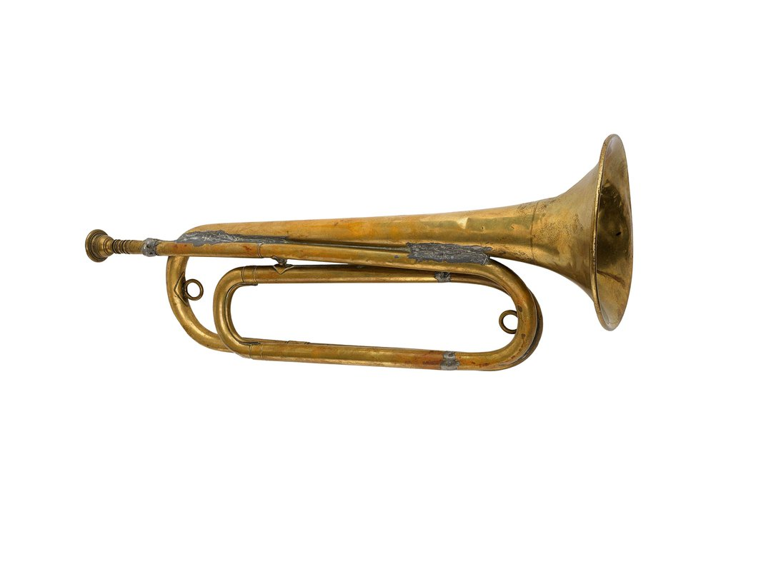 """Hartley Edwards Played """"Taps"""" on this Bugle After World War I to Honor the Fallen"""