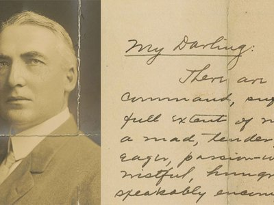 Warren Harding's affair with Carrie Fulton Phillips carried on for 15 years, up through the time when he served as a U.S. senator.
