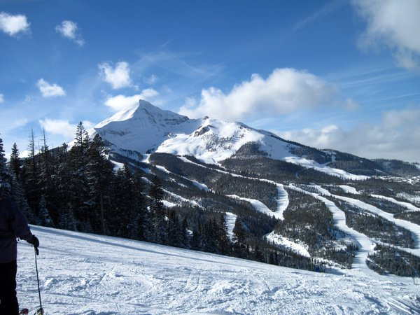 Lone Peak from a Skiers view thumbnail