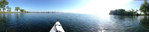 Kayaking on Lake Monona - Madison, WI thumbnail