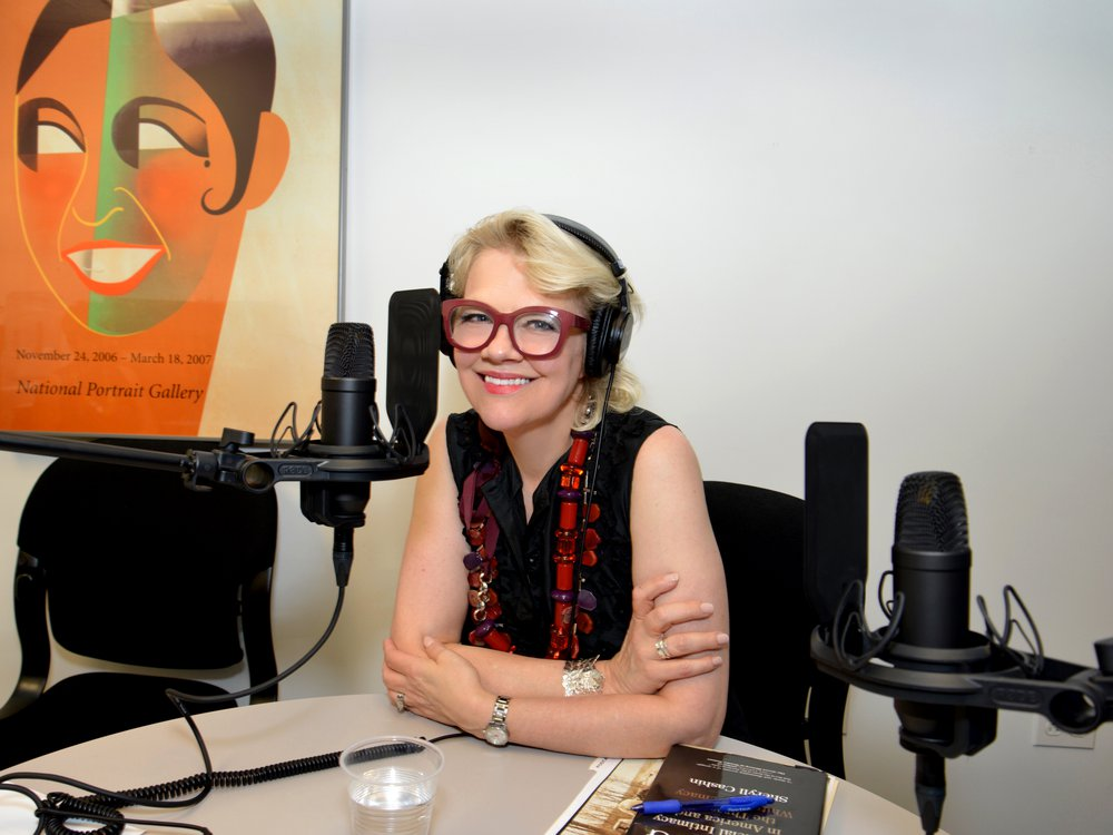 Kim Sajet, director of the National Portrait Gallery and host of PORTRAITS