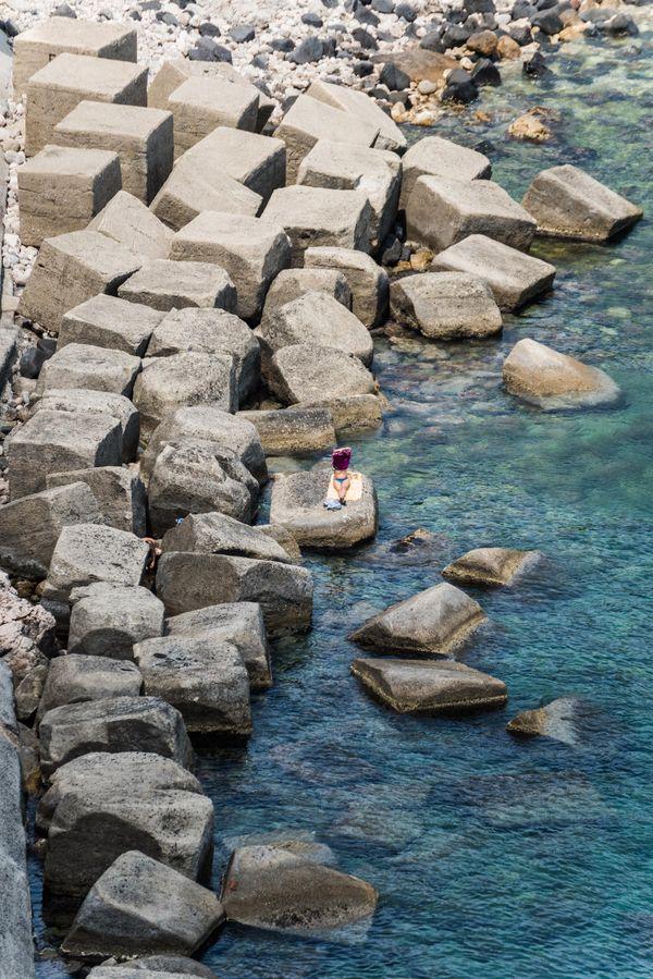 Taormina beach life thumbnail
