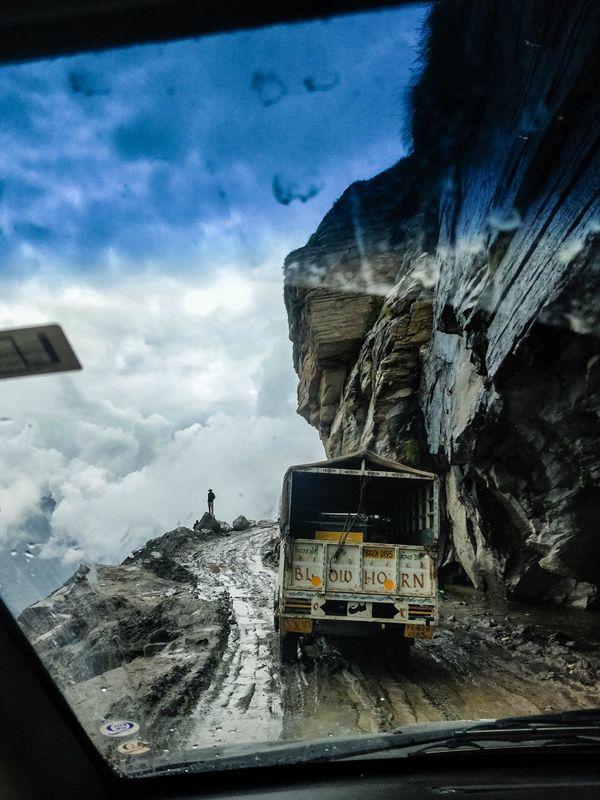Manali-Leh Highway, Himachal Pradesh, India. thumbnail