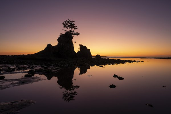 Sunset at Siletz Bay thumbnail