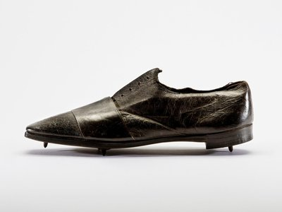 Thought to be the world's oldest existing running shoe, this footwear dates back to the early 1860s.