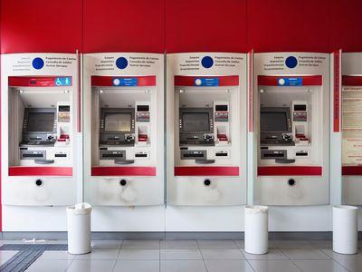 Bradesco Bank ATM, Rio de Janeiro.