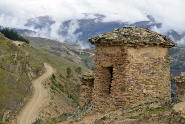 Ninamarca Funeral Towers in the Andes thumbnail