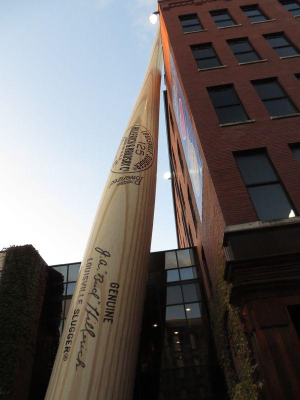 The Giant Bat: Louisville Slugger thumbnail