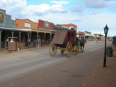 Allen Street in Tombstone, Arizona.