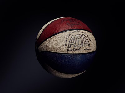 """""""As a guard, what I liked about the ABA ball was the color,"""" said former ABA player Gene Littles. """"It was a special feeling to take a long shot and watch those colors rotate in the air and then see the ball with all those colors nestle into the net. It made your heart beat just a little bit faster when you hit a 25-footer with the ABA ball."""" -Loose Balls by Terry Pluto"""