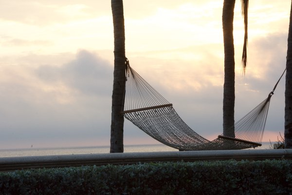 Early morning relaxation near the ocean. thumbnail