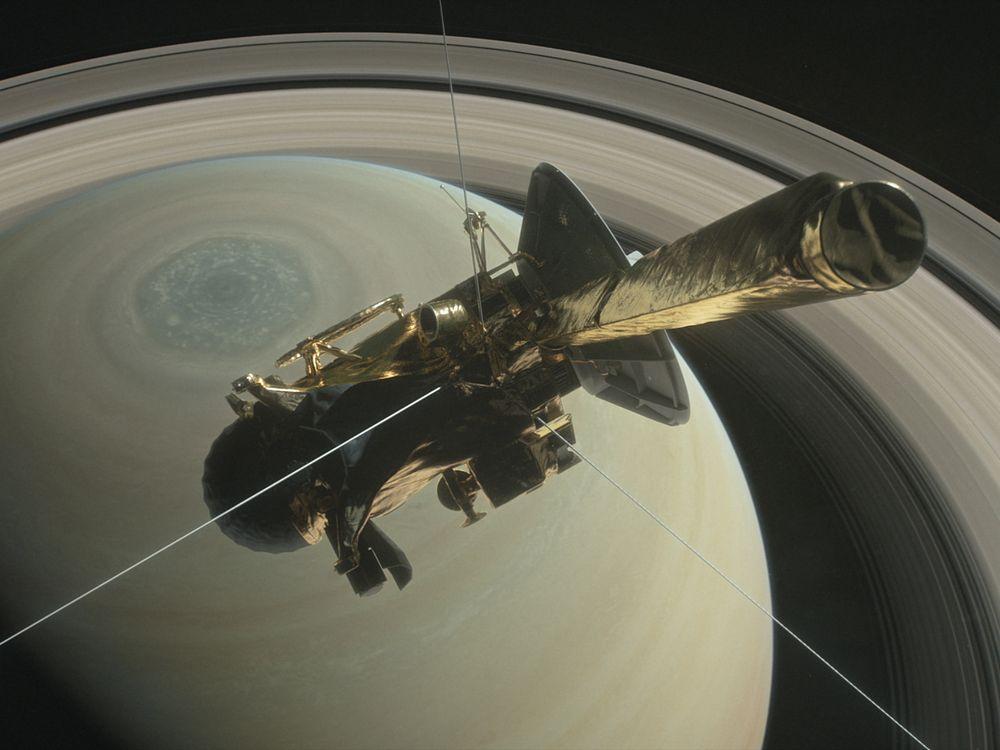 Cassini Dive