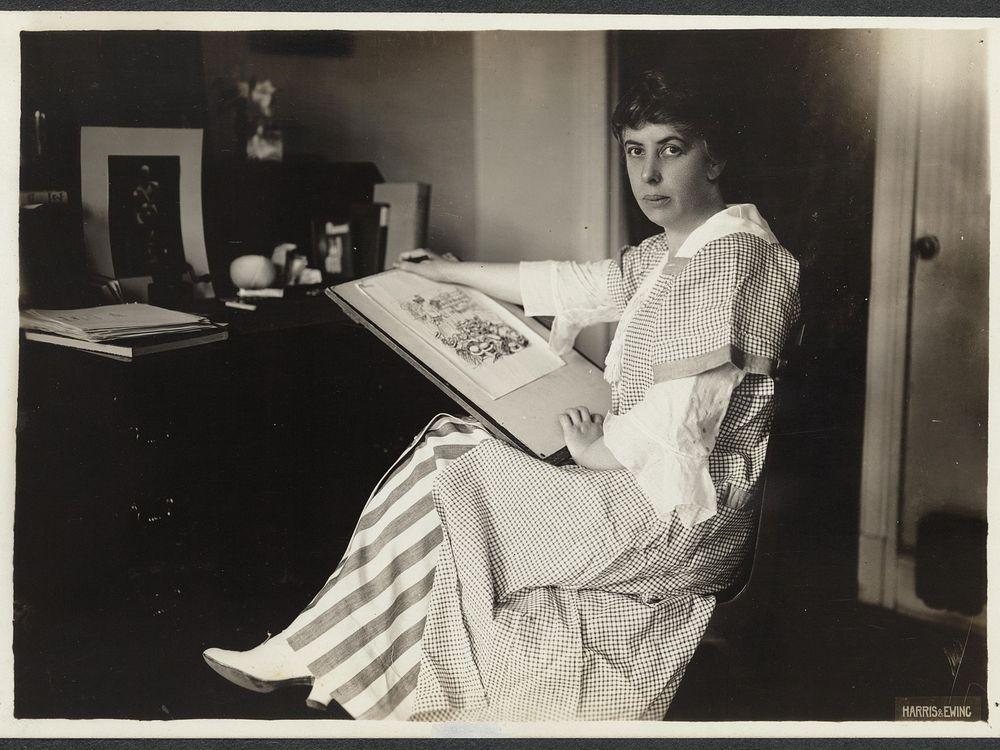 Nina Allender The Suffragist artist