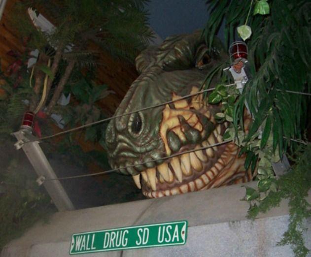 Wall Drug T. rex, Wall, South Dakota