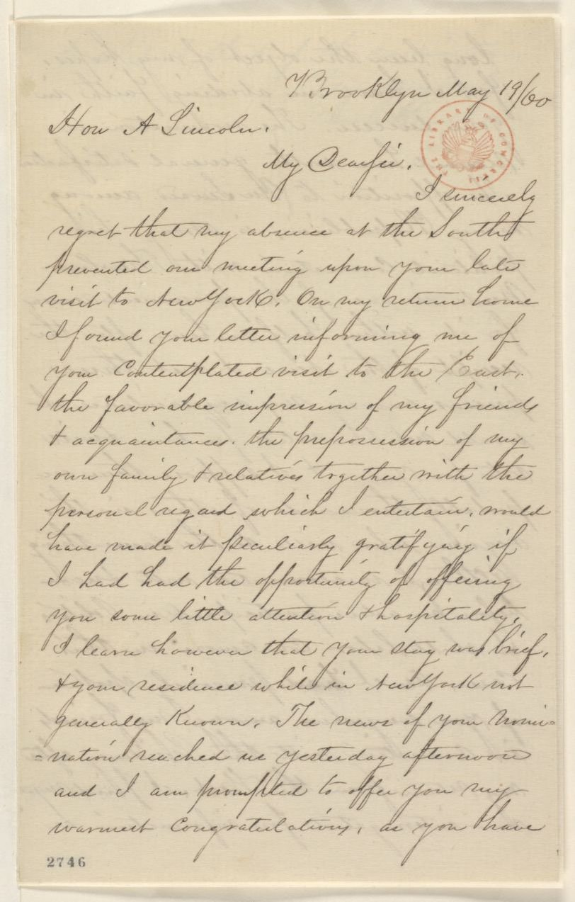 Read Thousands of Abraham Lincoln's Newly Transcribed Letters Online