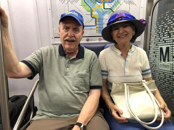 A couple visiting WAshington DC. thumbnail