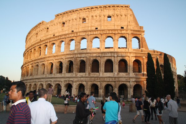 Coliseum with a perfect light thumbnail