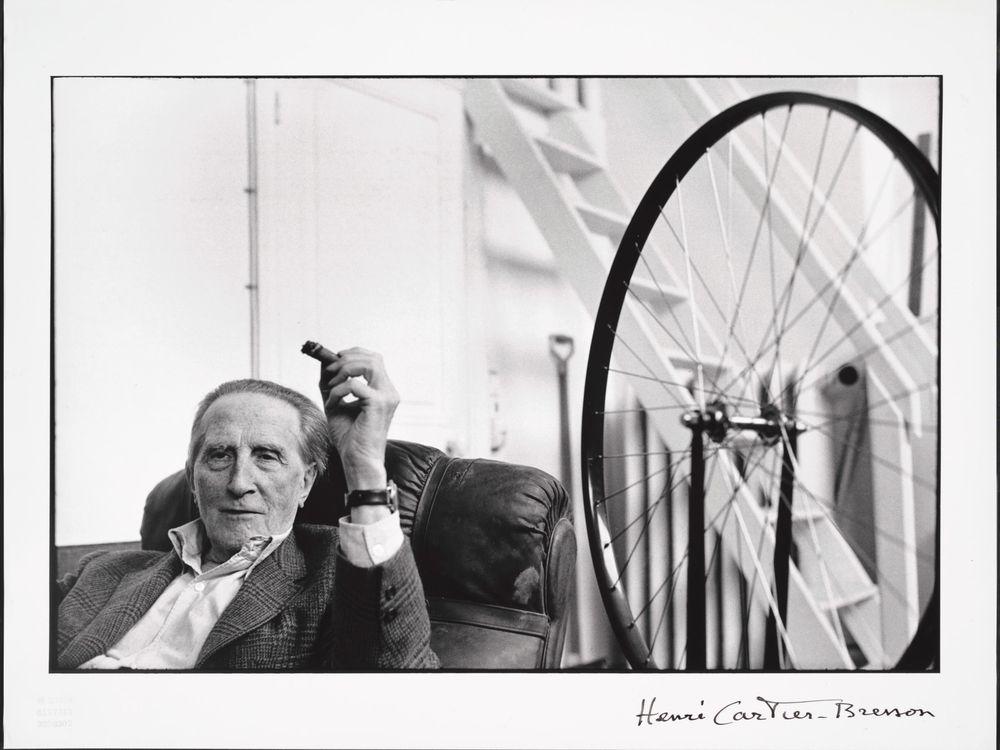 Duchamp, Cartier-Bresson