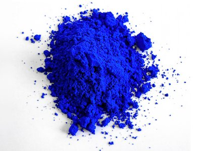 YInMn Blue derives its name from its chemical components: yttrium, indium and manganese.