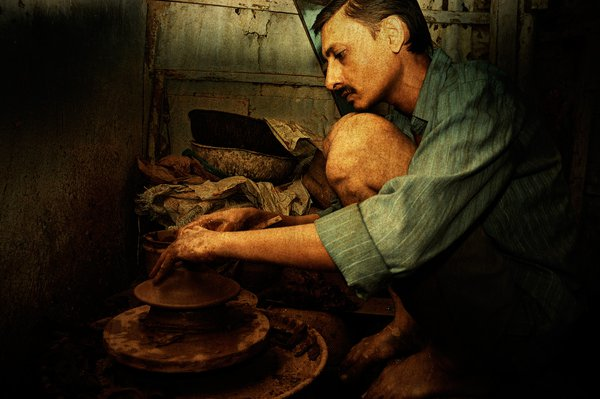 Traditional pottery making thumbnail