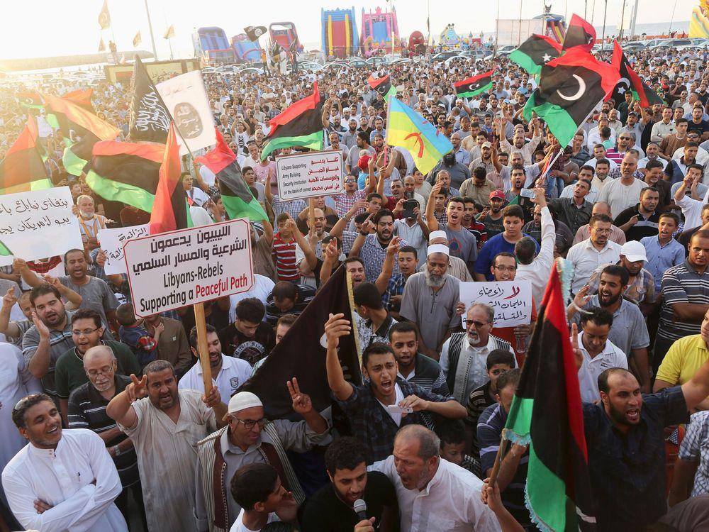 Protests Libya