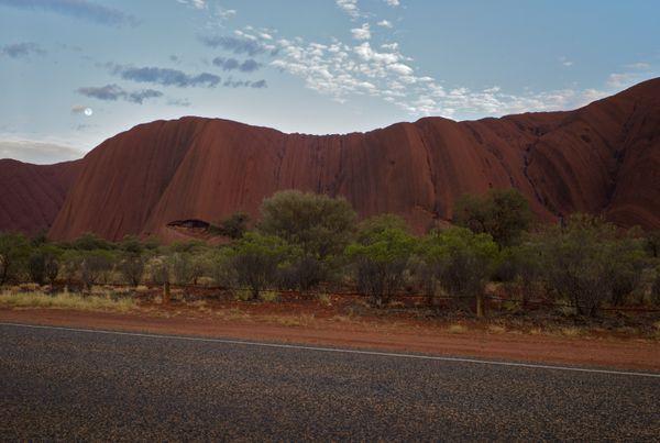 View of Uluru (formerly Ayers Rock) at dawn thumbnail