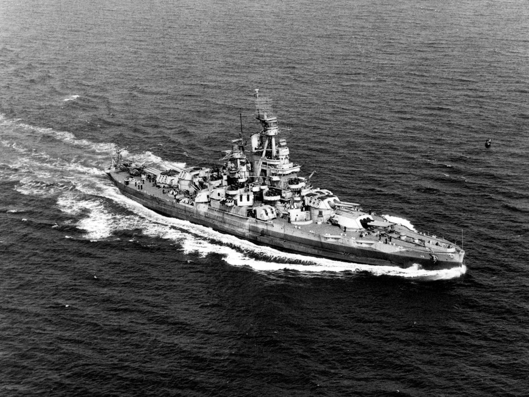 Researchers Locate Wreck of Battleship That Survived Pearl Harbor and Nuclear Bomb Tests