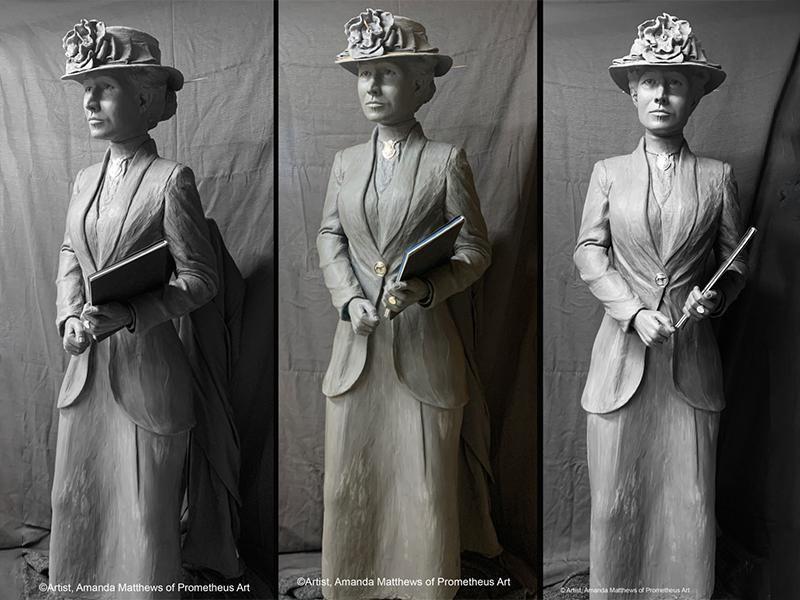 Statue of Nettie Depp