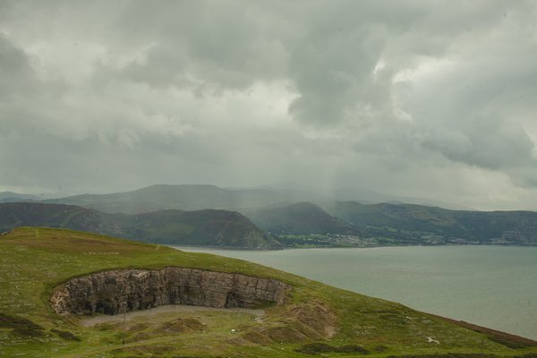 The view from Great Orme. thumbnail