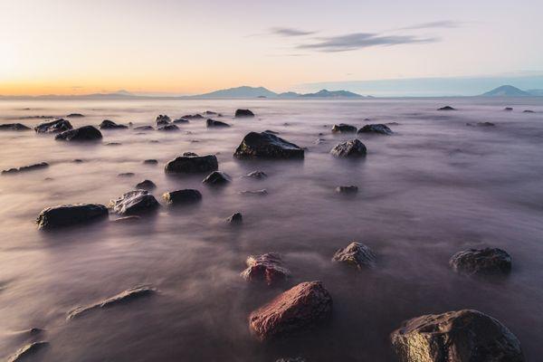 Ocean at sunset thumbnail