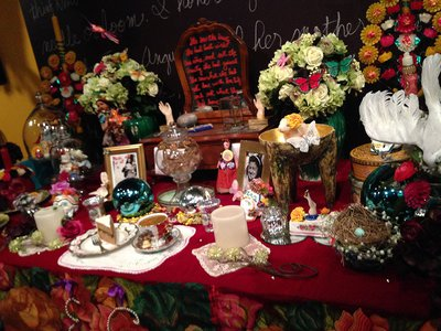 """The installation, """"A Room of Her Own: An Altar for My Mother,"""" is on view through January 2015."""