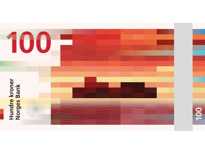 A pixelated design by the architecture firm Snøhetta will soon grace Norway's money.