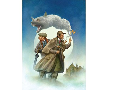 Baskerville: A Sherlock Holmes Mystery pits Holmes against a terrifying monster.