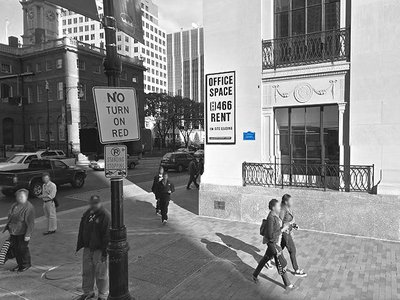 The corner in downtown Hartford where the first pay phone was installed
