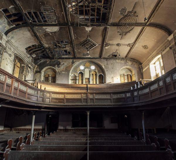 Abandoned Baptist Chapel, Wales thumbnail