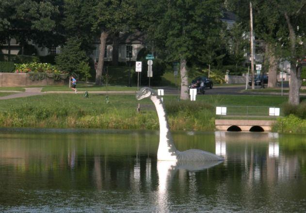 Minne the Lake Monster, Minneapolis, Minnesota