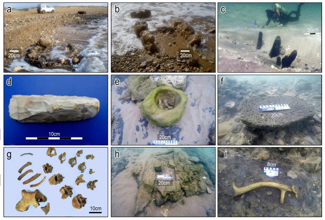 Oldest Known Seawall Discovered Along Submerged Mediterranean Villages