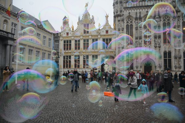 People behind bubbles thumbnail