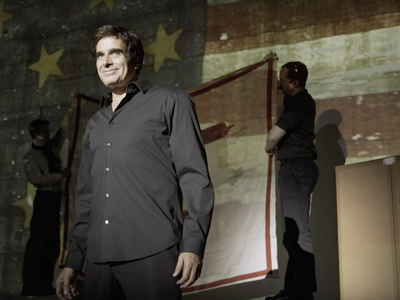 David Copperfield at the Smithsonian's National Museum of American History