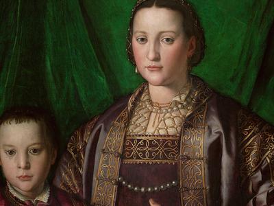 Bronzino, Eleonora di Toledo and Francesco de' Medici, c. 1550