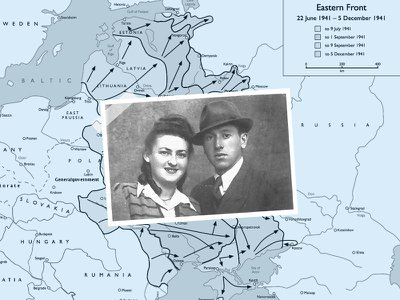 Simcha and Leah Fogelman both endured World War II and took two different paths of surviving the Holocaust.