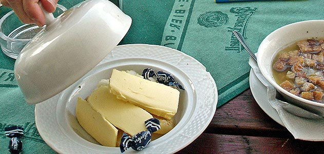 Olomouc stinky cheese